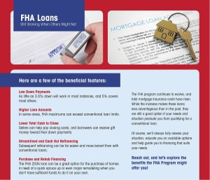 How FHA Home Loans Work