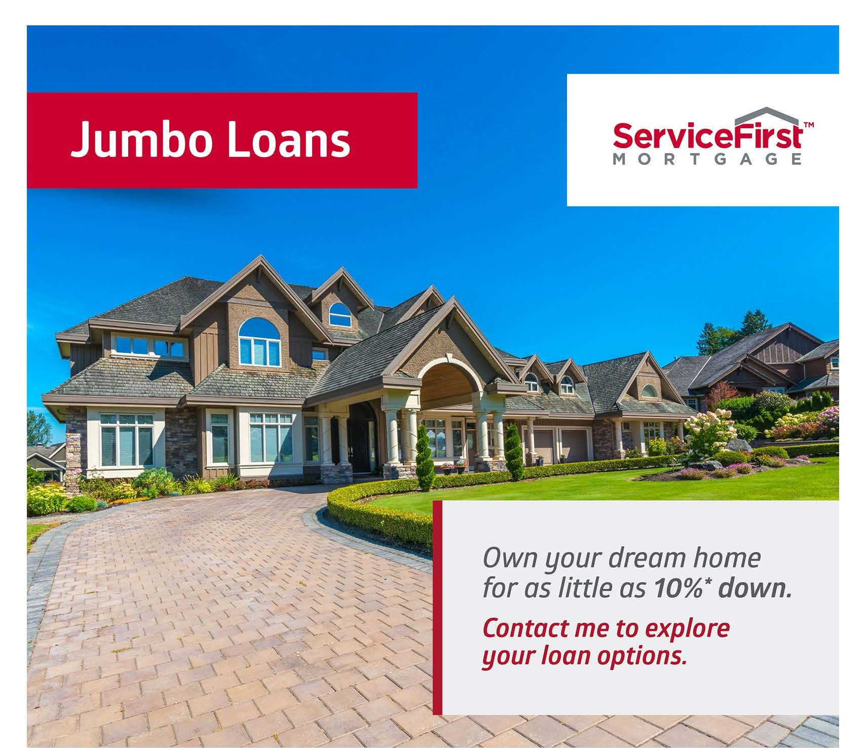 Jumbo Loan Amount Texas