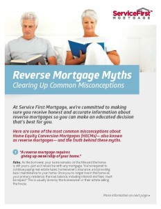 Reverse Mortgage Buy a Home Without Having To Make Monthly Mortgage payments