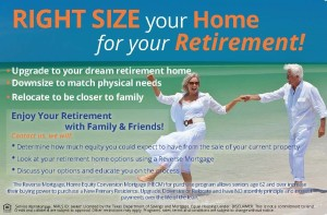 Right Size Your Home With a Reverse Mortgage