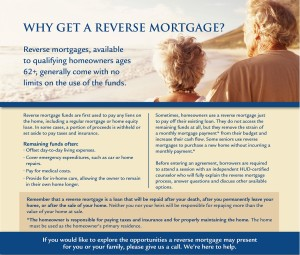 Why Get Your Reverse Mortgage From Richard Woodward of Service First Mortgage
