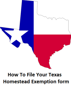 How To File Your Texas Homestead Form