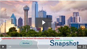 September 2017 Dallas Housing Statistics Video