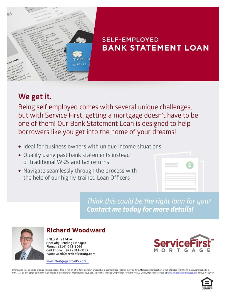 Bank Statement Loans for Self Employed