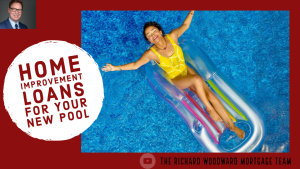 Home improvement loans for your new pool.